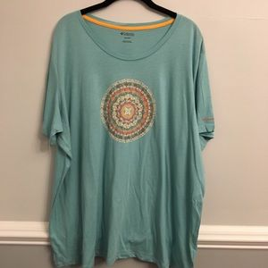 Columbia NWT Graphic 3X T Shirt Boho